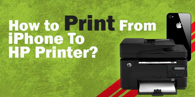 How to Print From iPhone To HP Printer